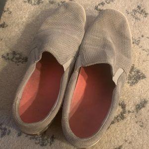 Dr. Scholl's Size 9 Tan/Gray Fashion Sneaker